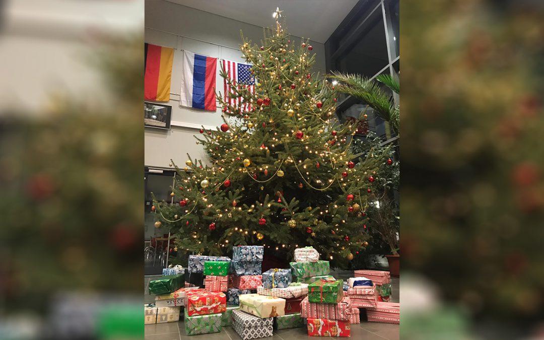 Weihnachtspäckchen am MCG